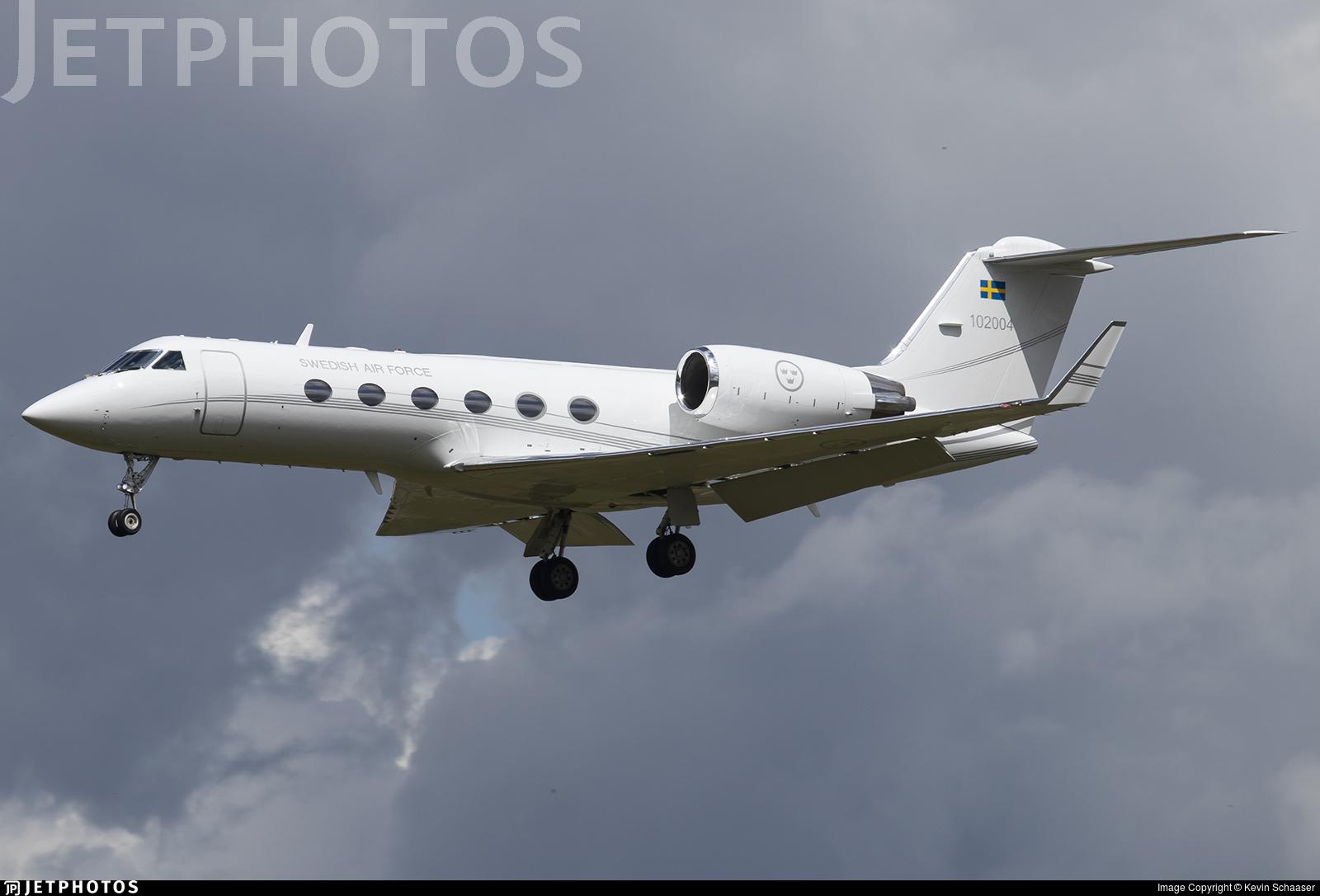 102004 - Gulfstream Tp102C - Sweden - Air Force