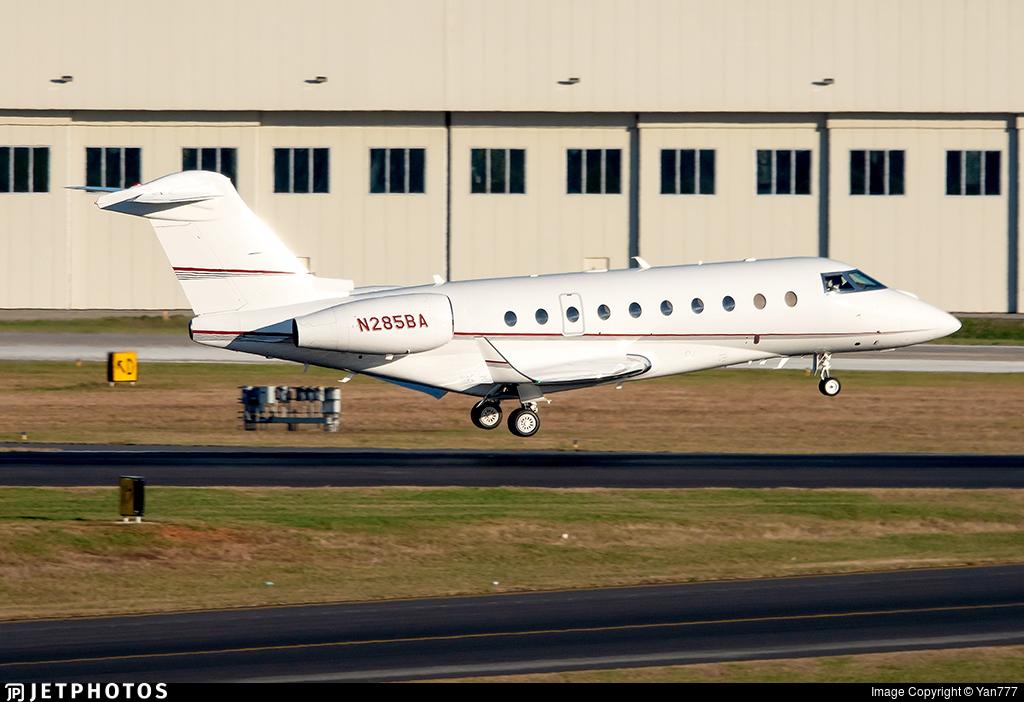 N285BA - Gulfstream G280 - Private