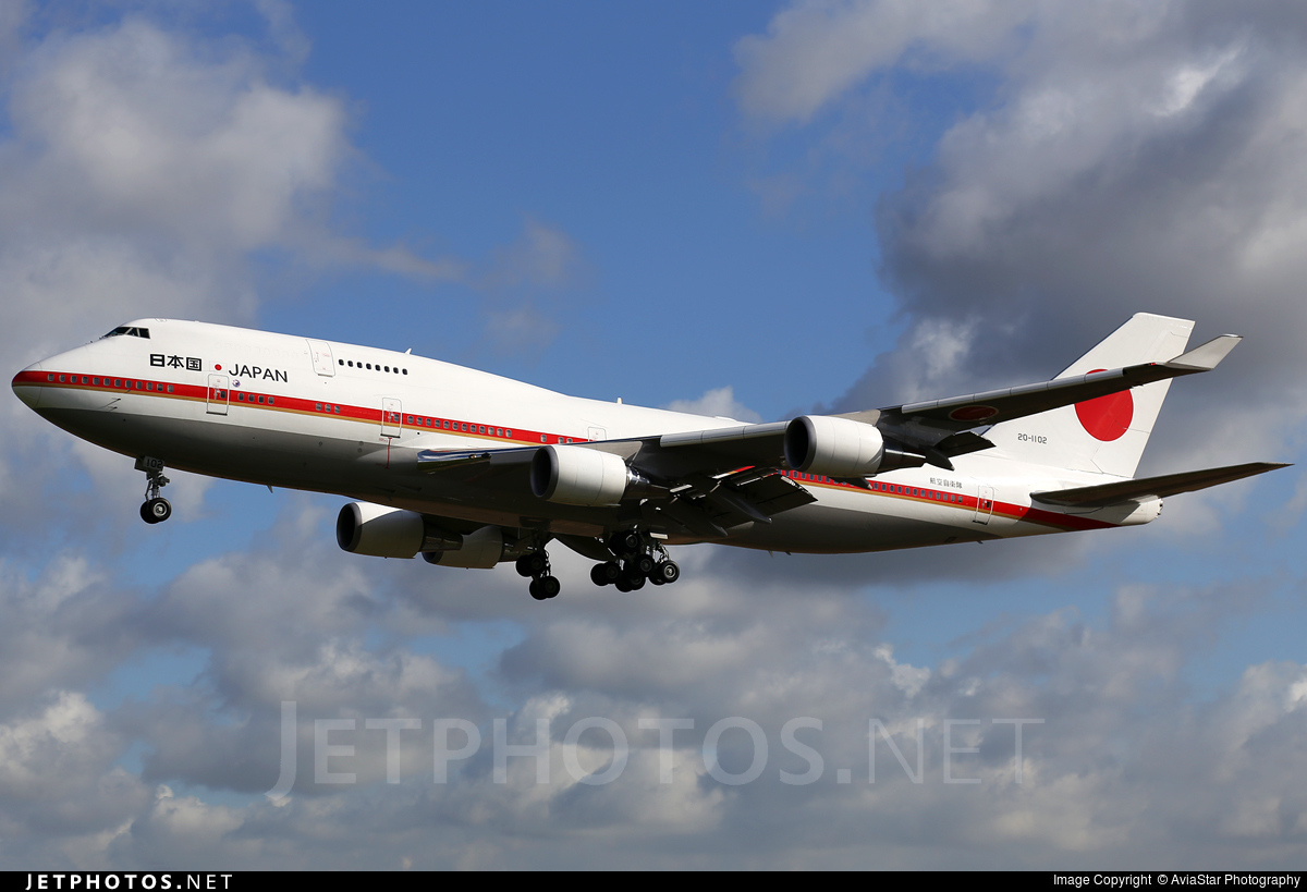 20-1102 - Boeing 747-47C - Japan - Air Self Defence Force (JASDF)