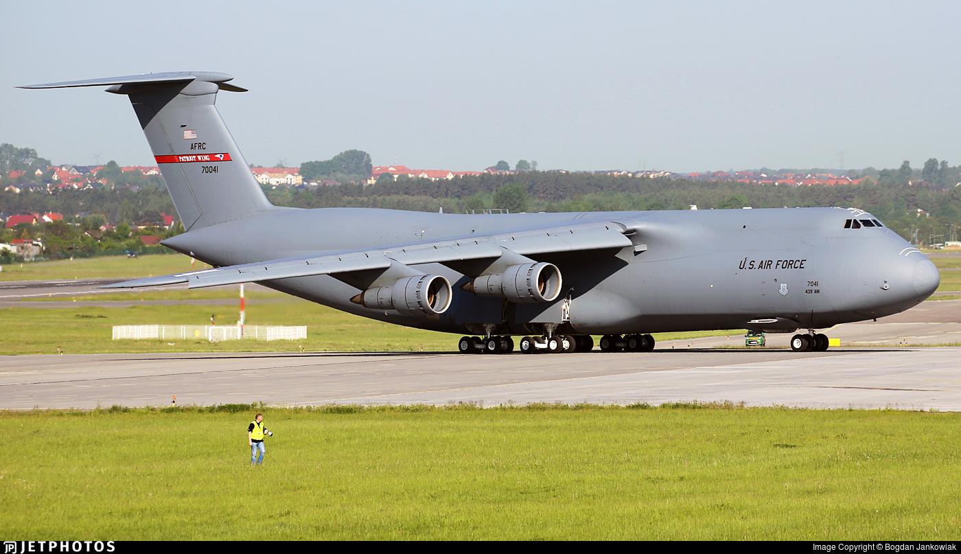 87-0041 - Lockheed C-5B Galaxy - United States - US Air Force (USAF)