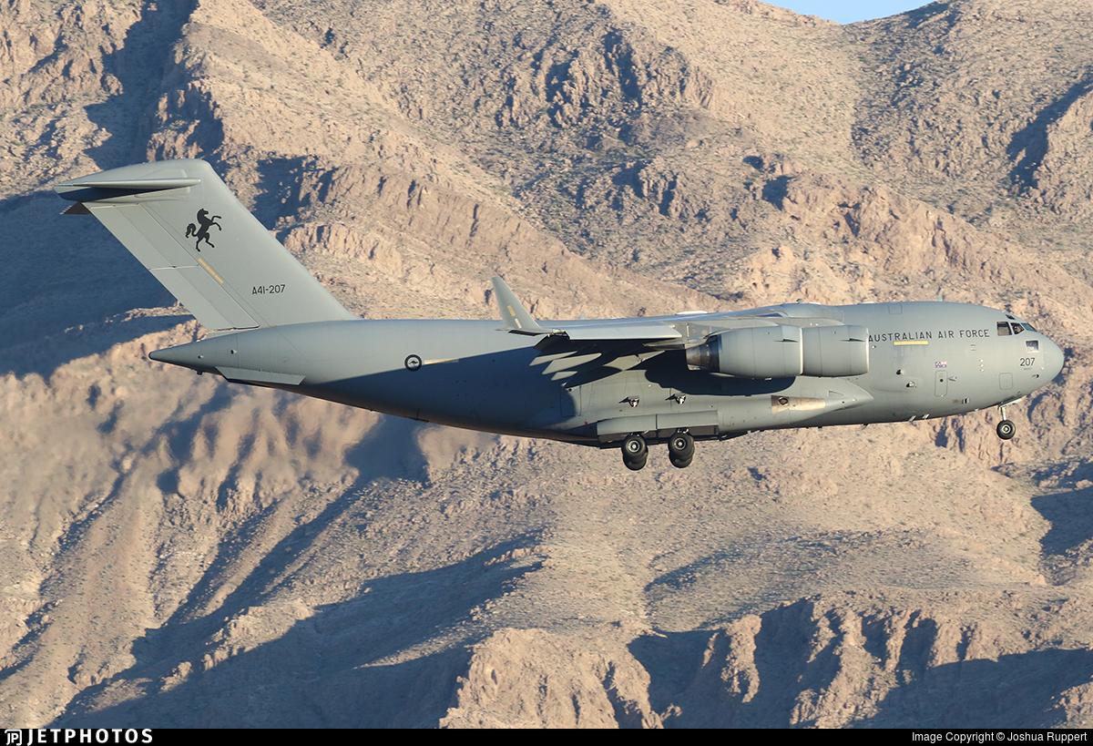 A41-207 - Boeing C-17A Globemaster III - Australia - Royal Australian Air Force (RAAF)