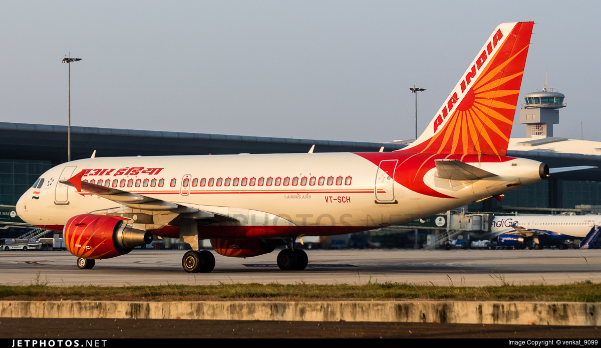 VT-SCH - Airbus A319-112 - Air India