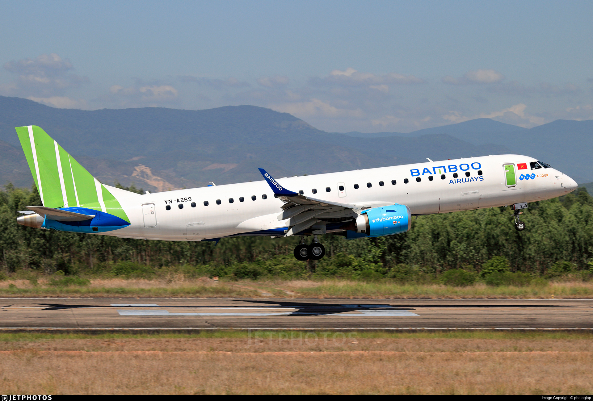 VN-A269 - Embraer 190-100LR - Bamboo Airways