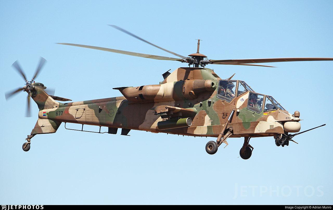 677 - Denel CSH-2 Rooivalk - South Africa - Air Force