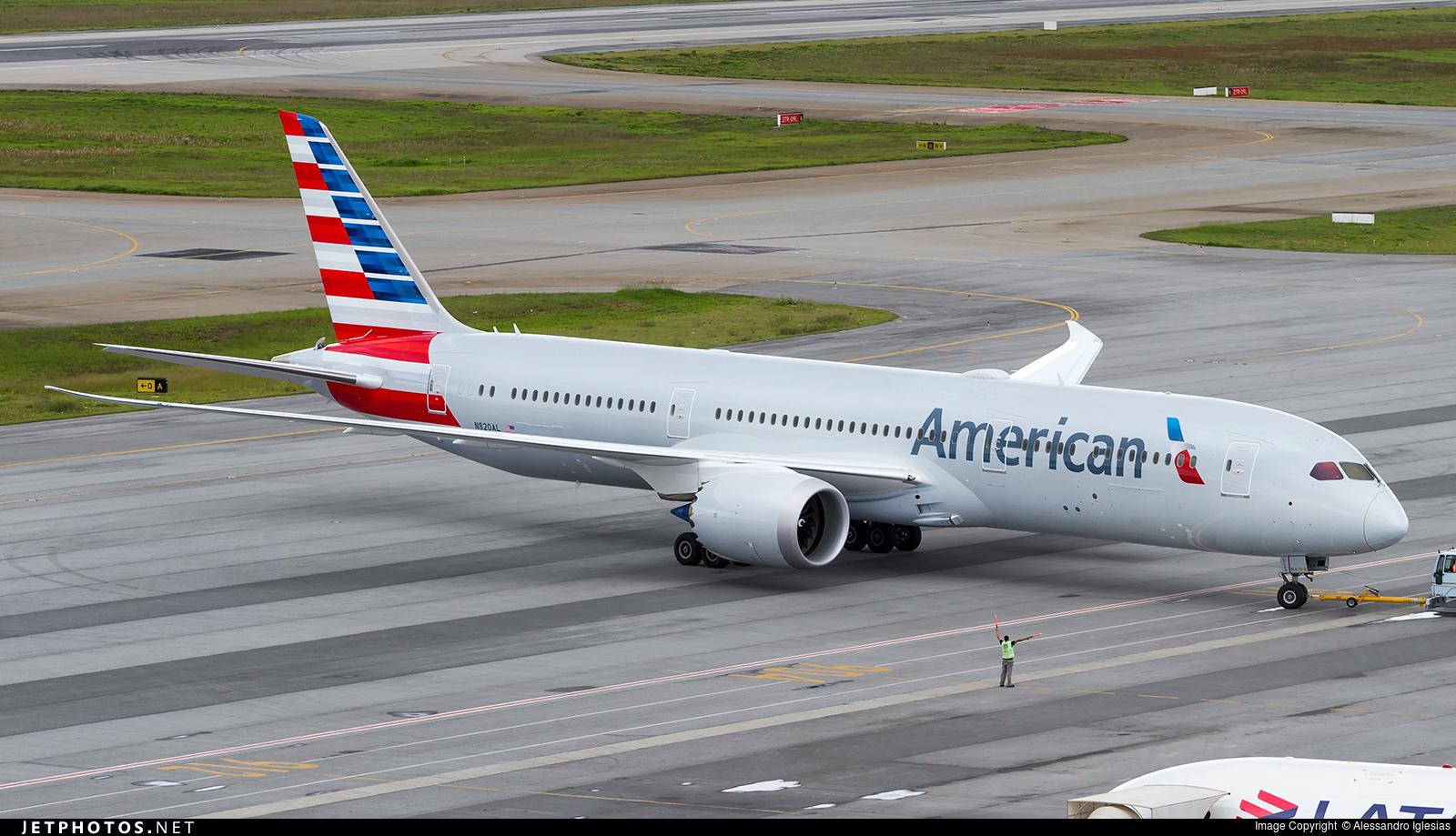 Resultado de imagen para american airlines 787-9