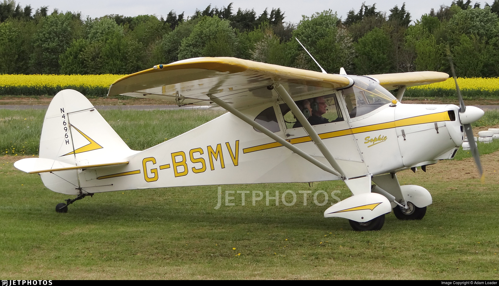 G-BSMV - Piper PA-17 Vagabond - Private
