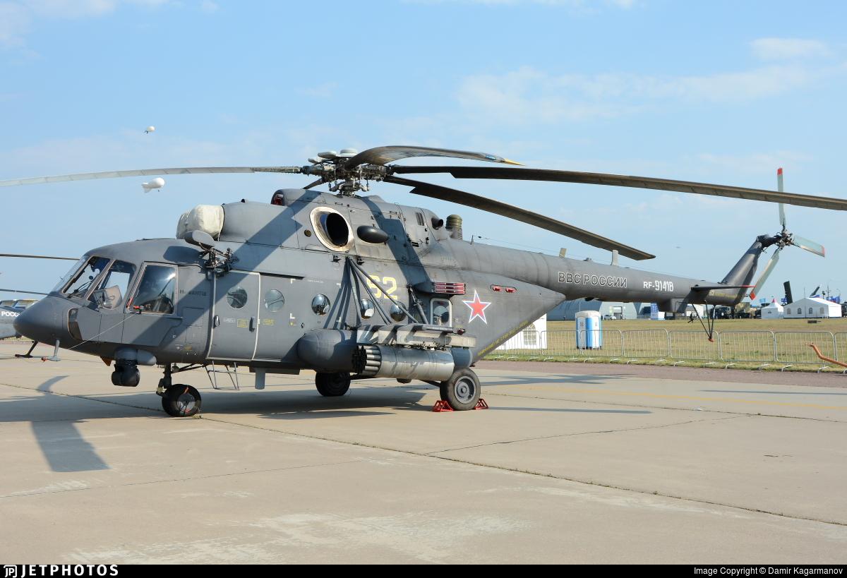 RF-91418 - Mil Mi-8AMTSh Hip - Russia - Air Force