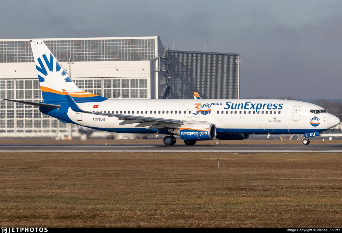 TC-SUU - Boeing 737-86Q - SunExpress
