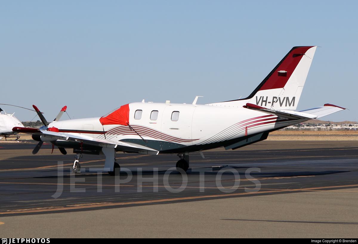 VH-PVM - Socata TBM-850 - Private