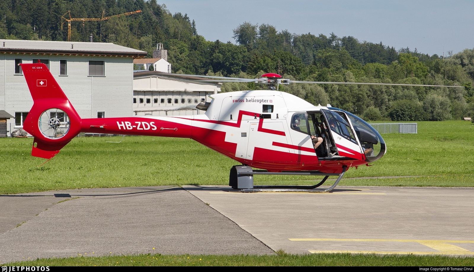 HB-ZDS - Eurocopter EC 120B Colibri - Swiss Helicopter AG