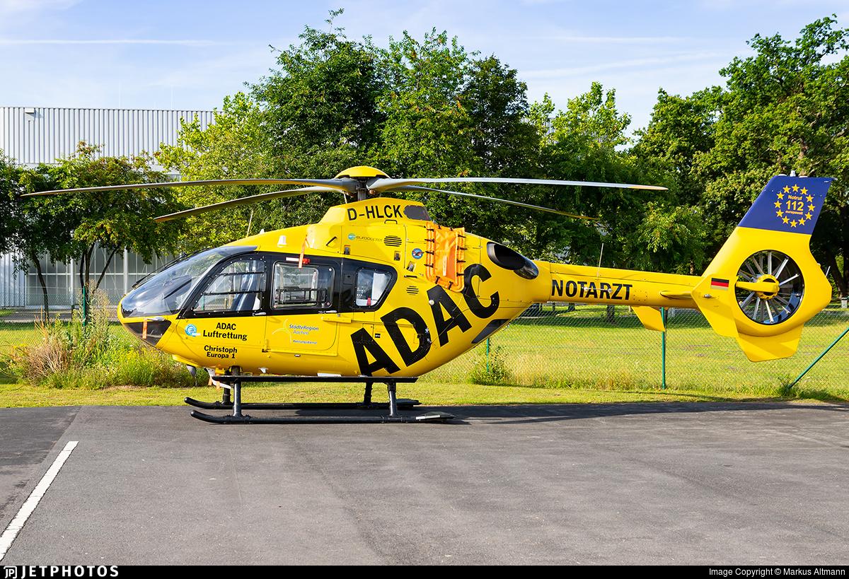 D-HLCK - Eurocopter EC 135P2 - ADAC Luftrettung