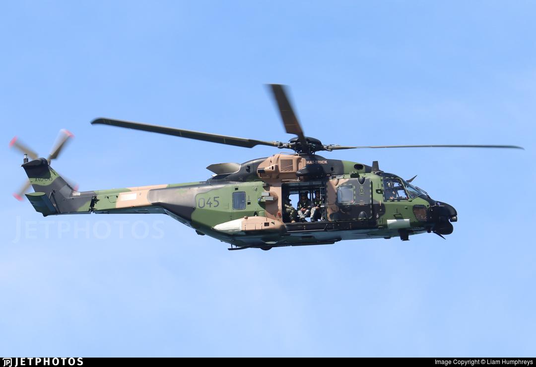 A40-045 - NH Industries MRH-90 - Australia - Royal Australian Navy (RAN)