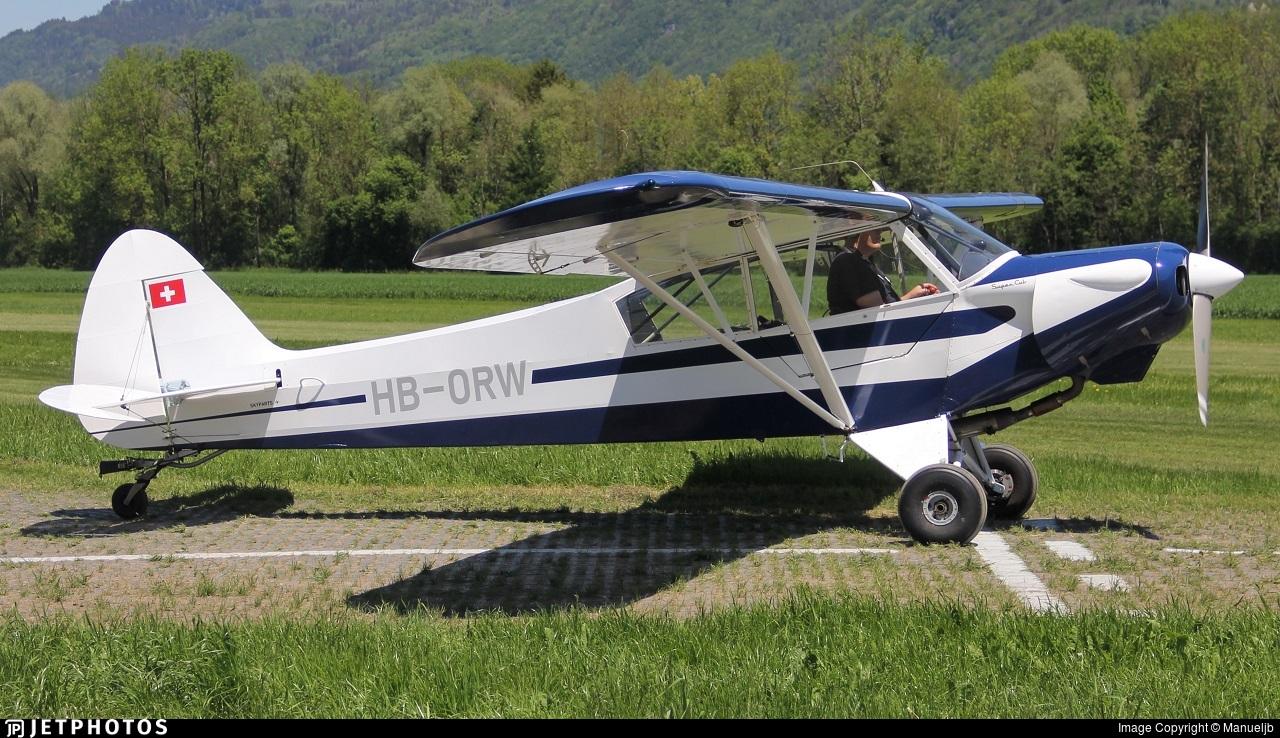 HB-ORW - Piper PA-18-180M Super Cub - Private
