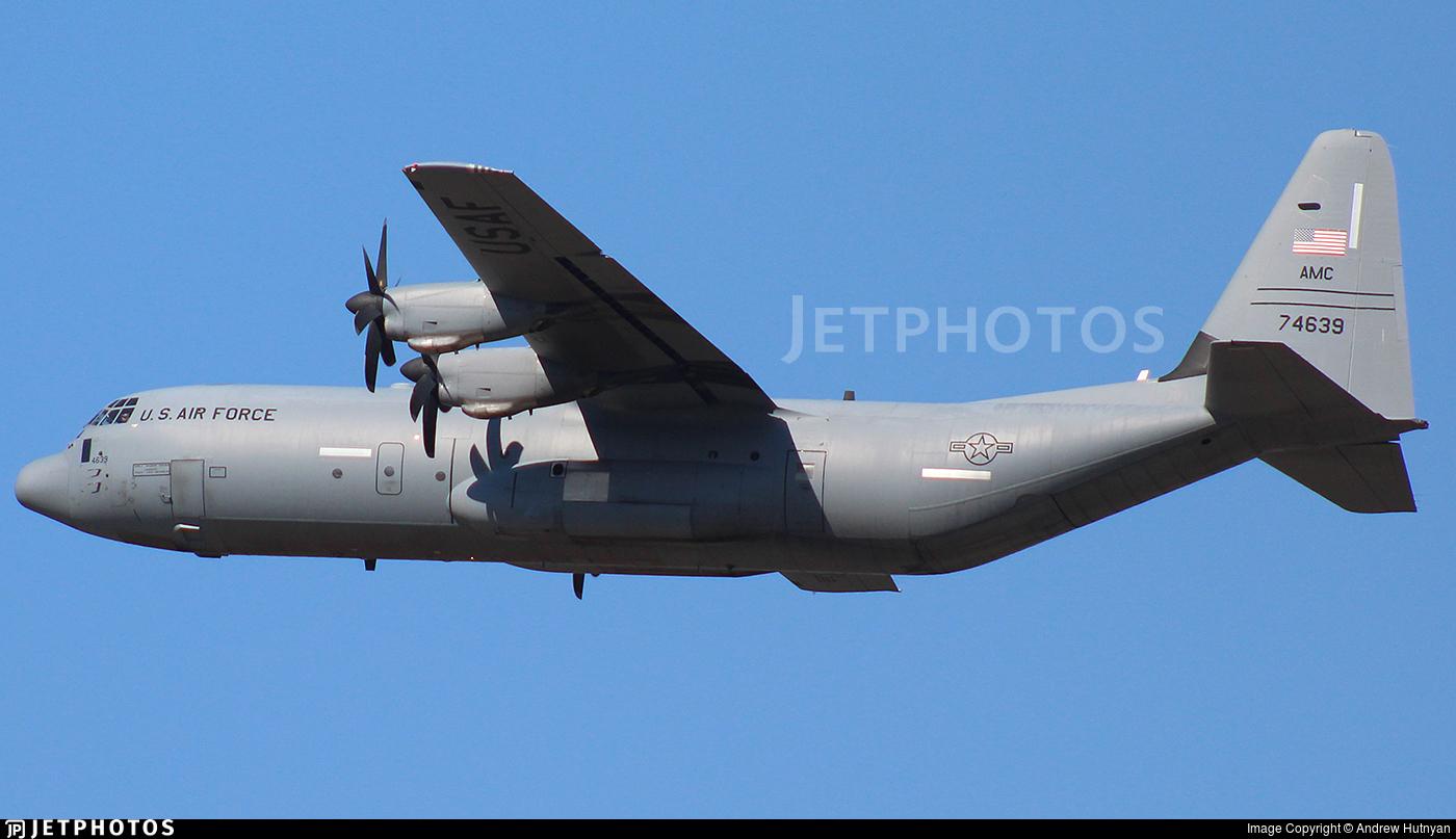 07-4639 - Lockheed Martin C-130J-30 Hercules - United States - US Air Force (USAF)