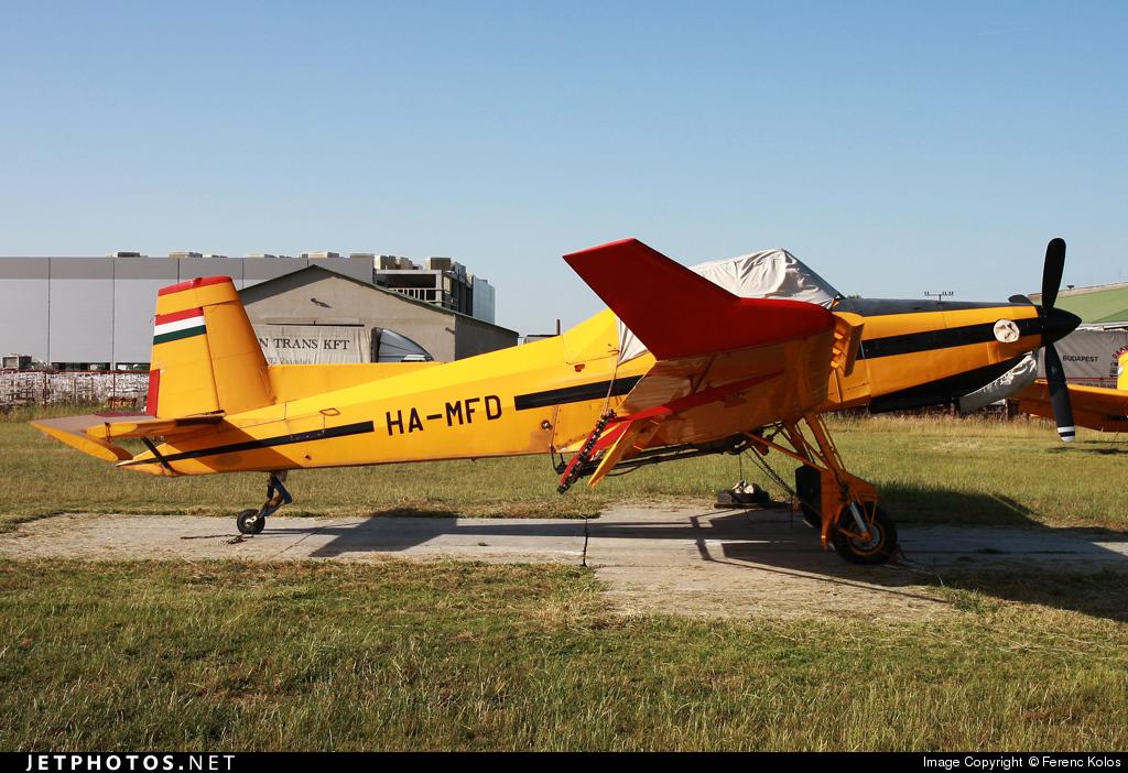 HA-MFD - Let Z-37T Agro turbo - Air Patrol