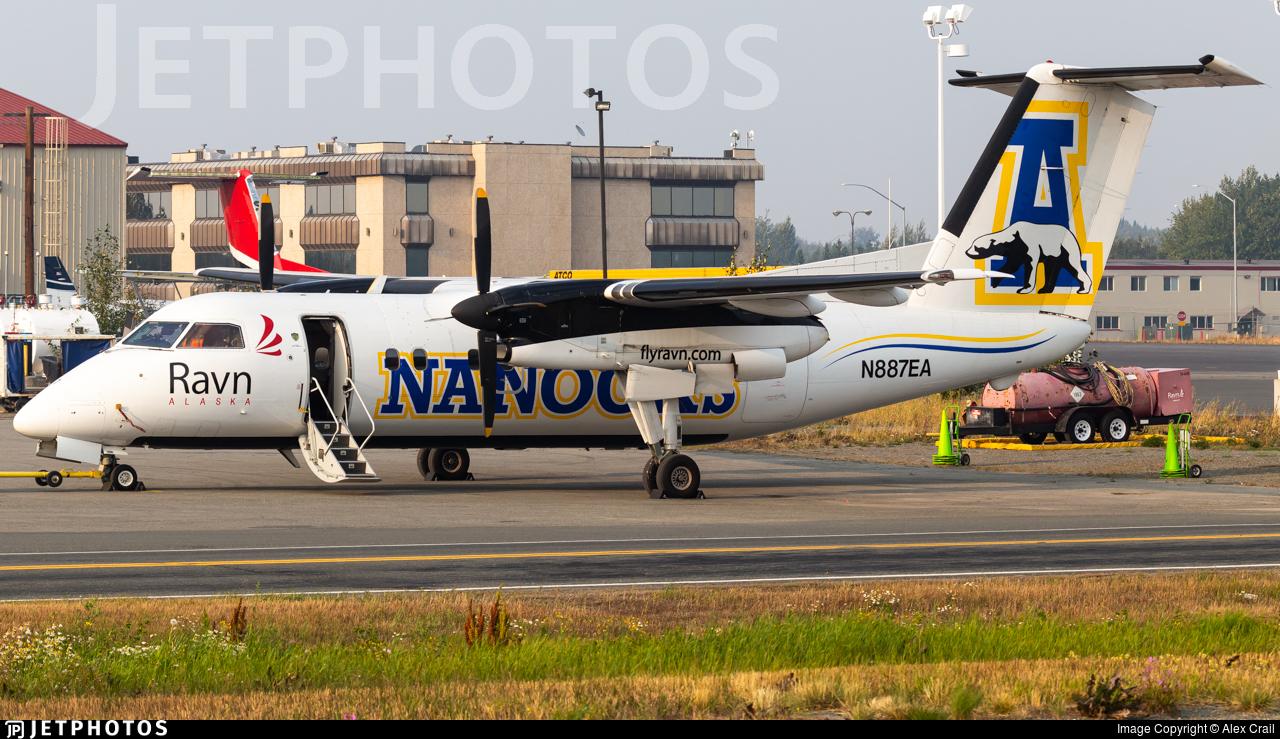 N887EA - Bombardier Dash 8-106 - Ravn Alaska