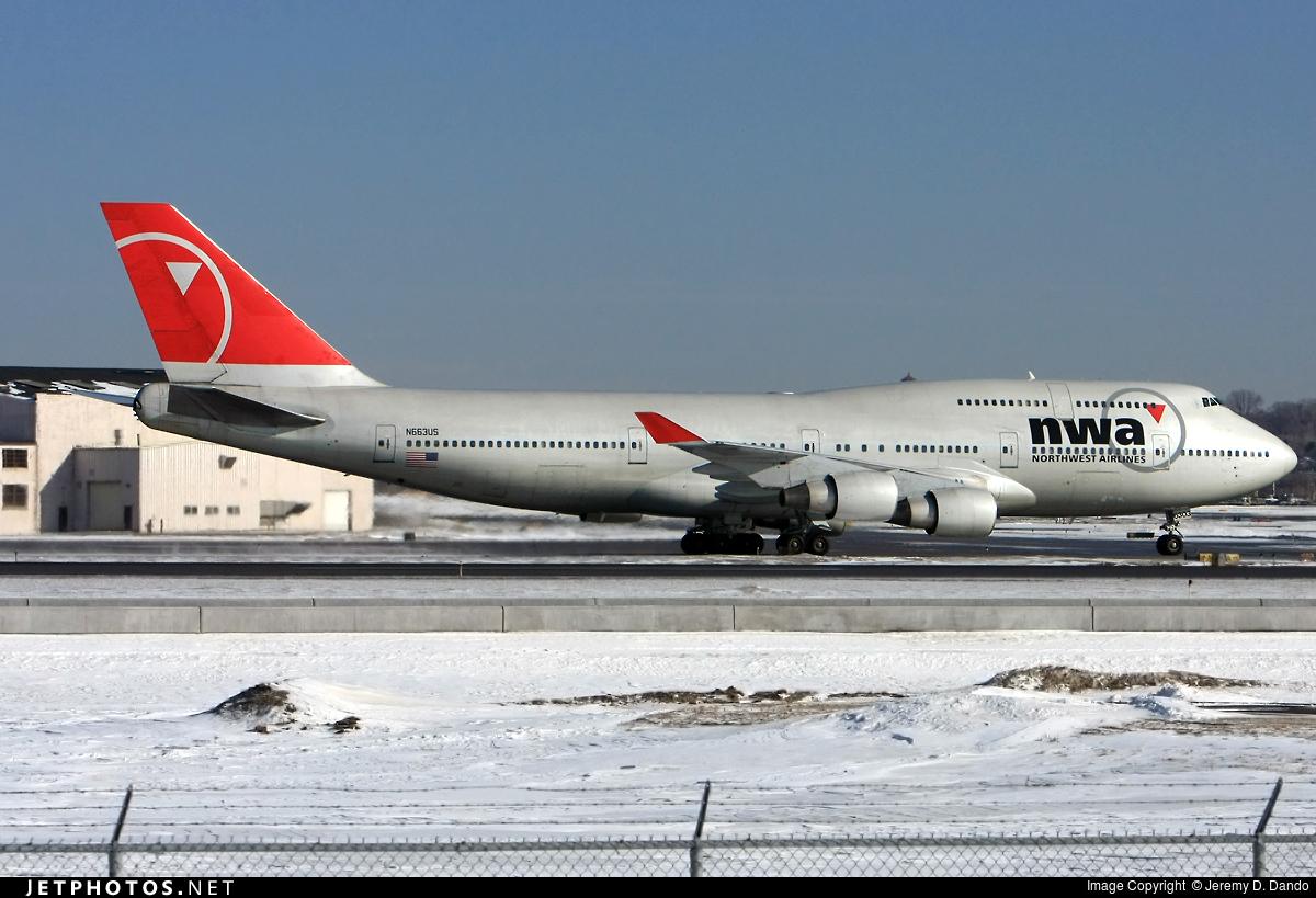 N663US - Boeing 747-451 - Northwest Airlines