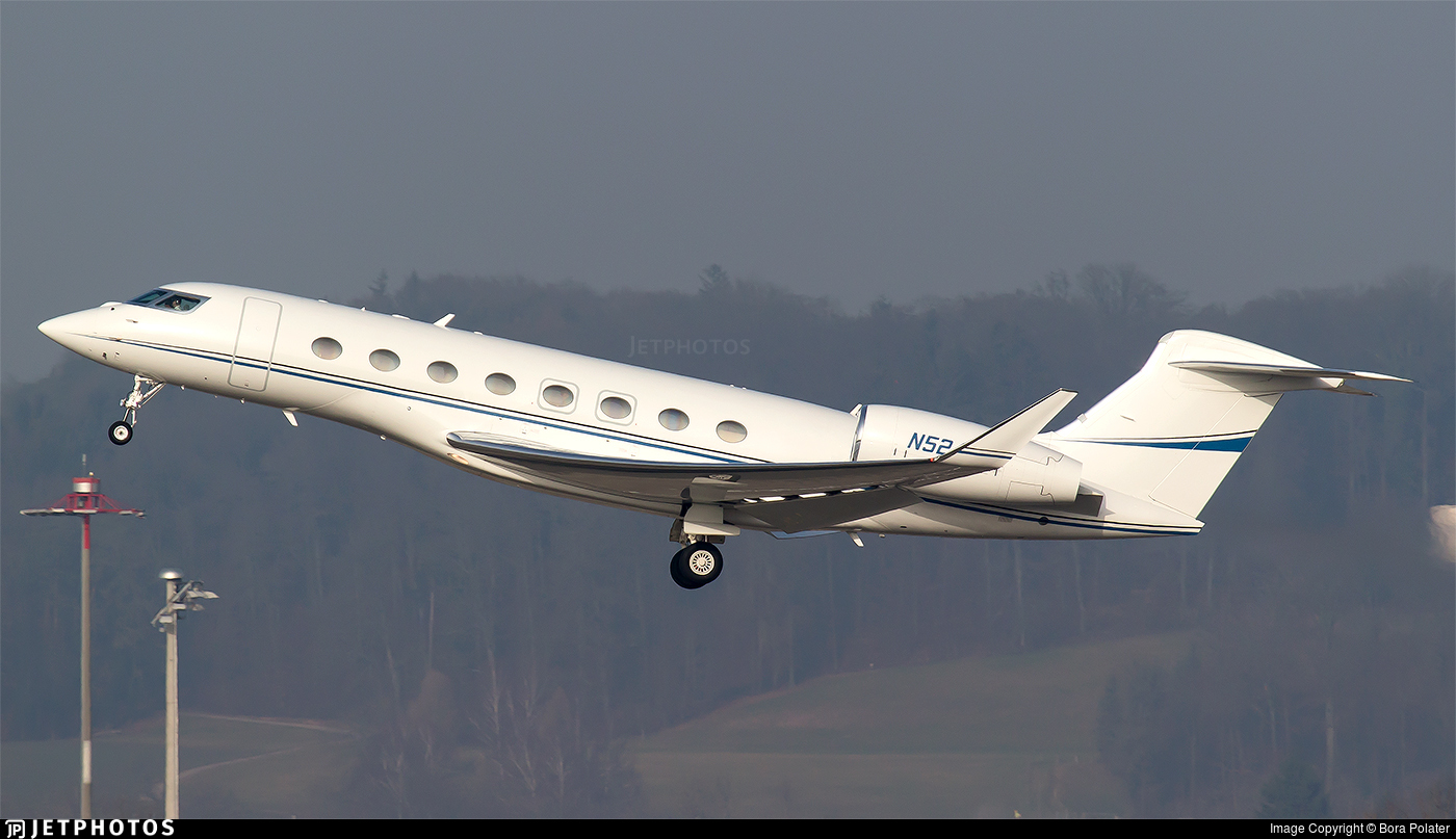 N524EA - Gulfstream G650ER - Landmark Aviation