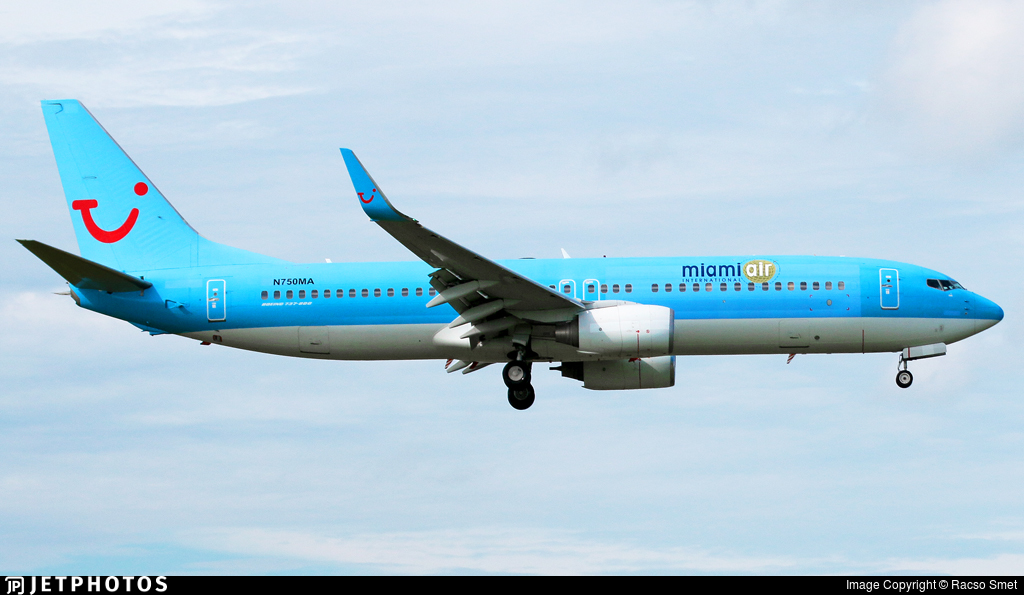 N750MA - Boeing 737-8K5 - Miami Air International