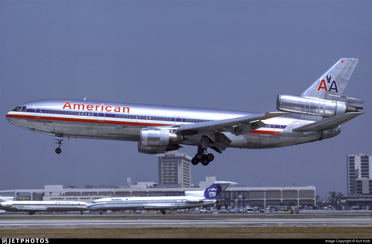 N127AA - McDonnell Douglas DC-10-10 - American Airlines