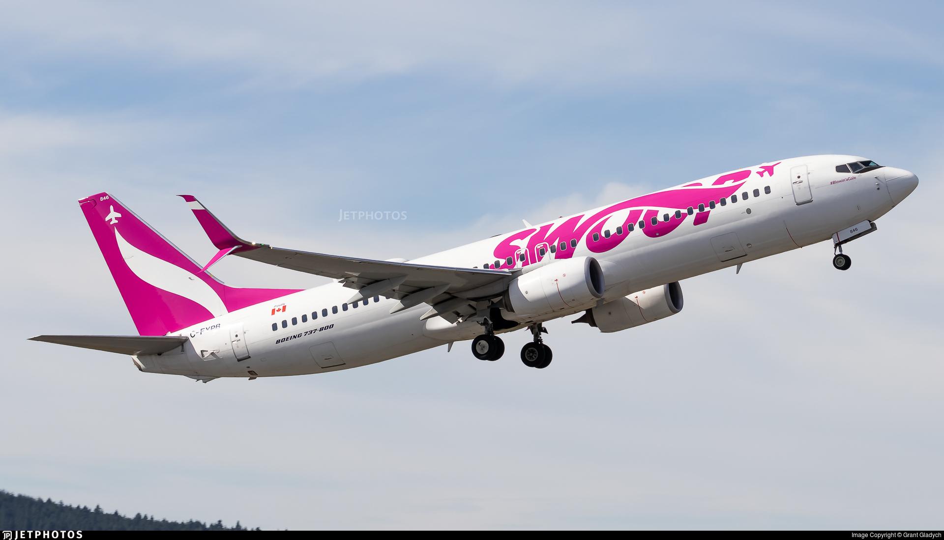 C-FYPB - Boeing 737-8CT - Swoop