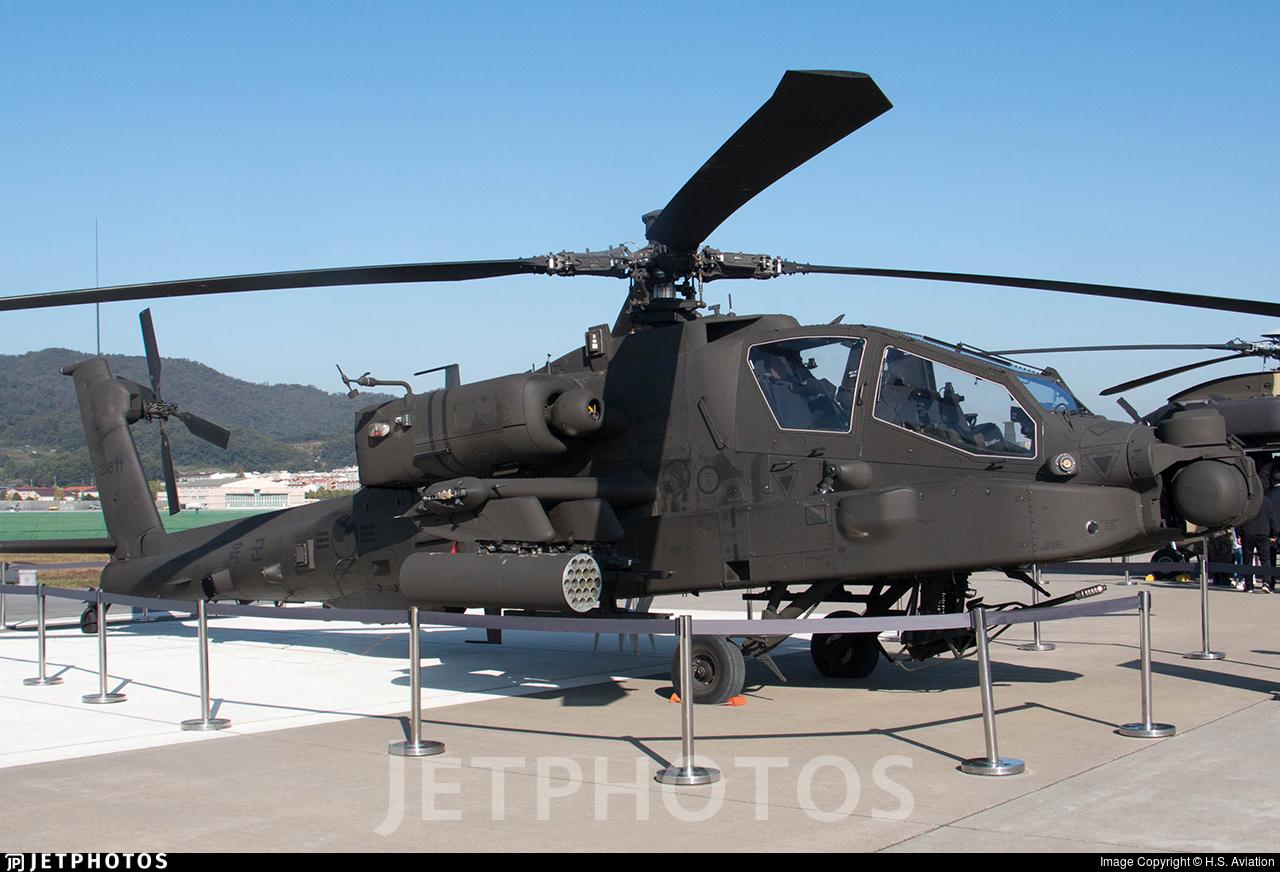 31611 - Boeing AH-64E Apache Guardian - South Korea - Army