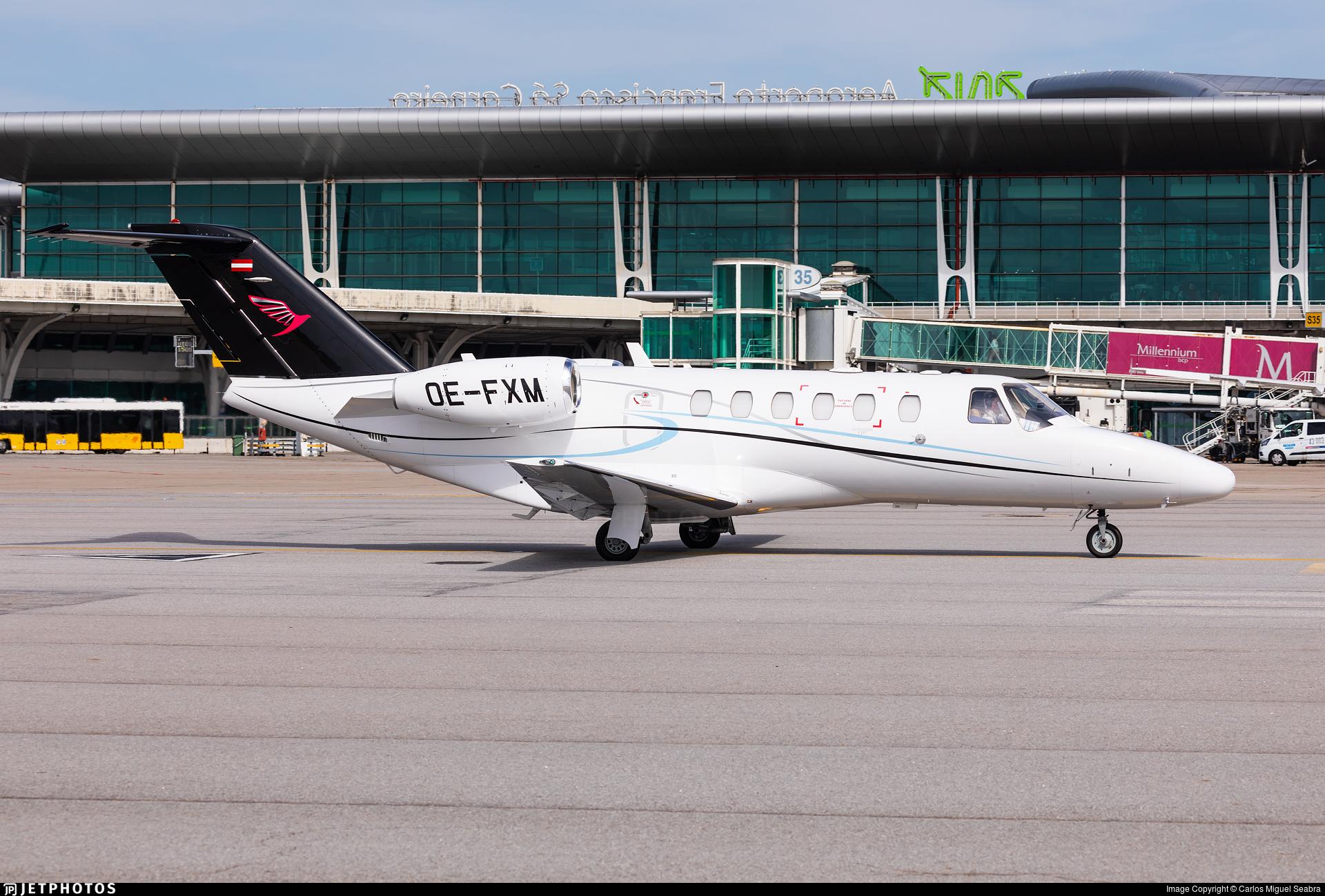 OE-FXM - Cessna 525A CitationJet 2 Plus - Sparfell Luftfahrt