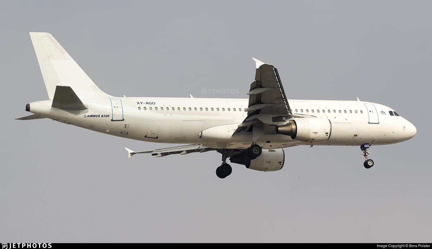 XY-AGO - Airbus A320-214 - Myanmar Airways International (MAI)