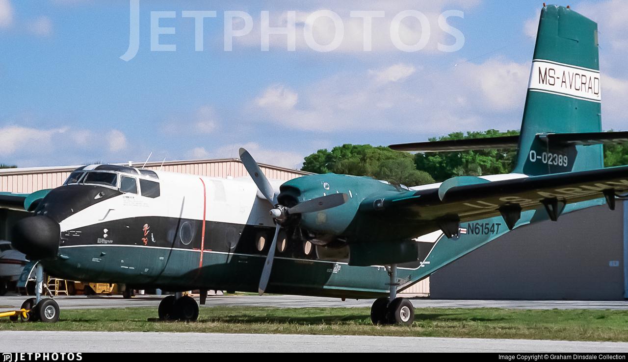 N6154T - De Havilland Canada DHC-4A Caribou - Private