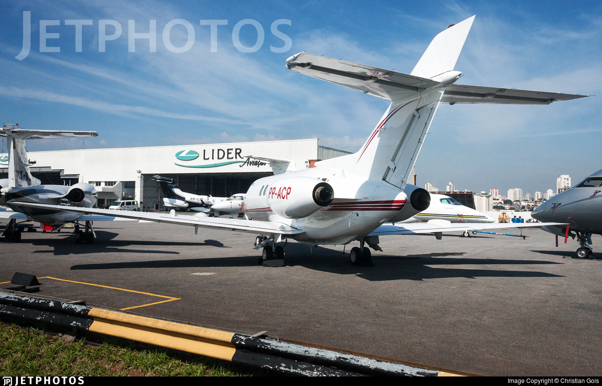 PP-ACP - Raytheon Hawker 800 - Private