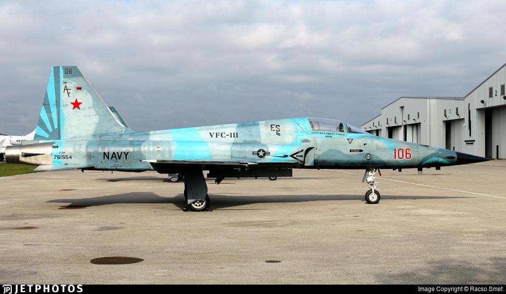 761554 - Northrop F-5N Tiger II - United States - US Navy (USN)