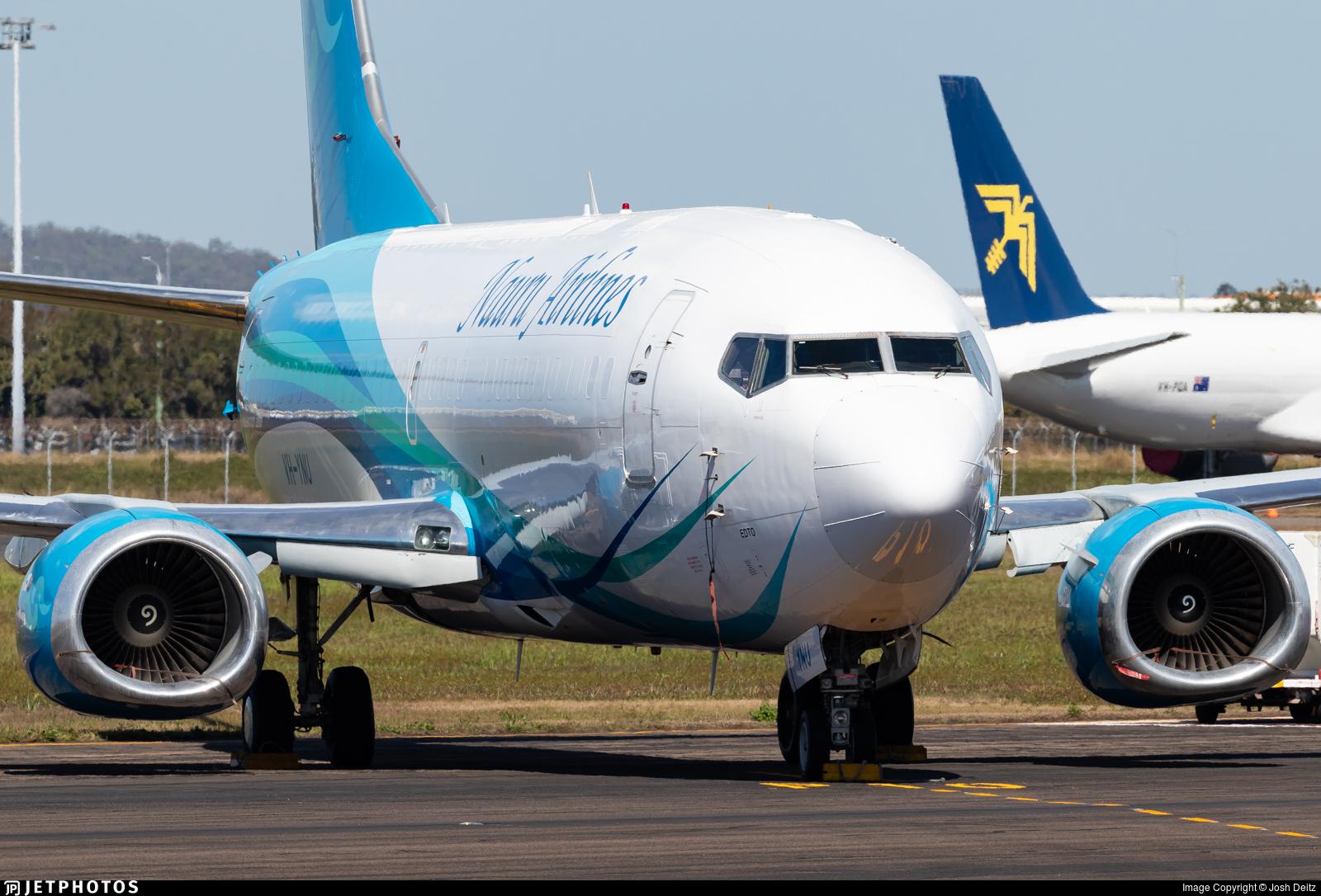 VH-YNU - Boeing 737-319(SF) - Nauru Airlines