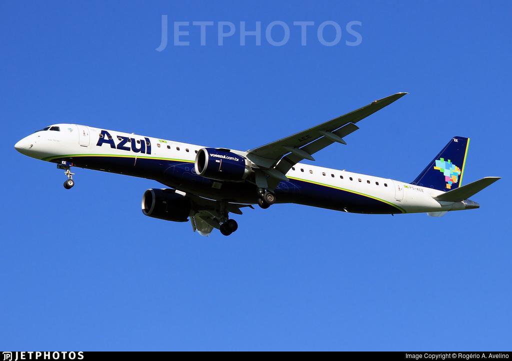 PS-AEE - Embraer 190-400STD - Azul Linhas Aéreas Brasileiras