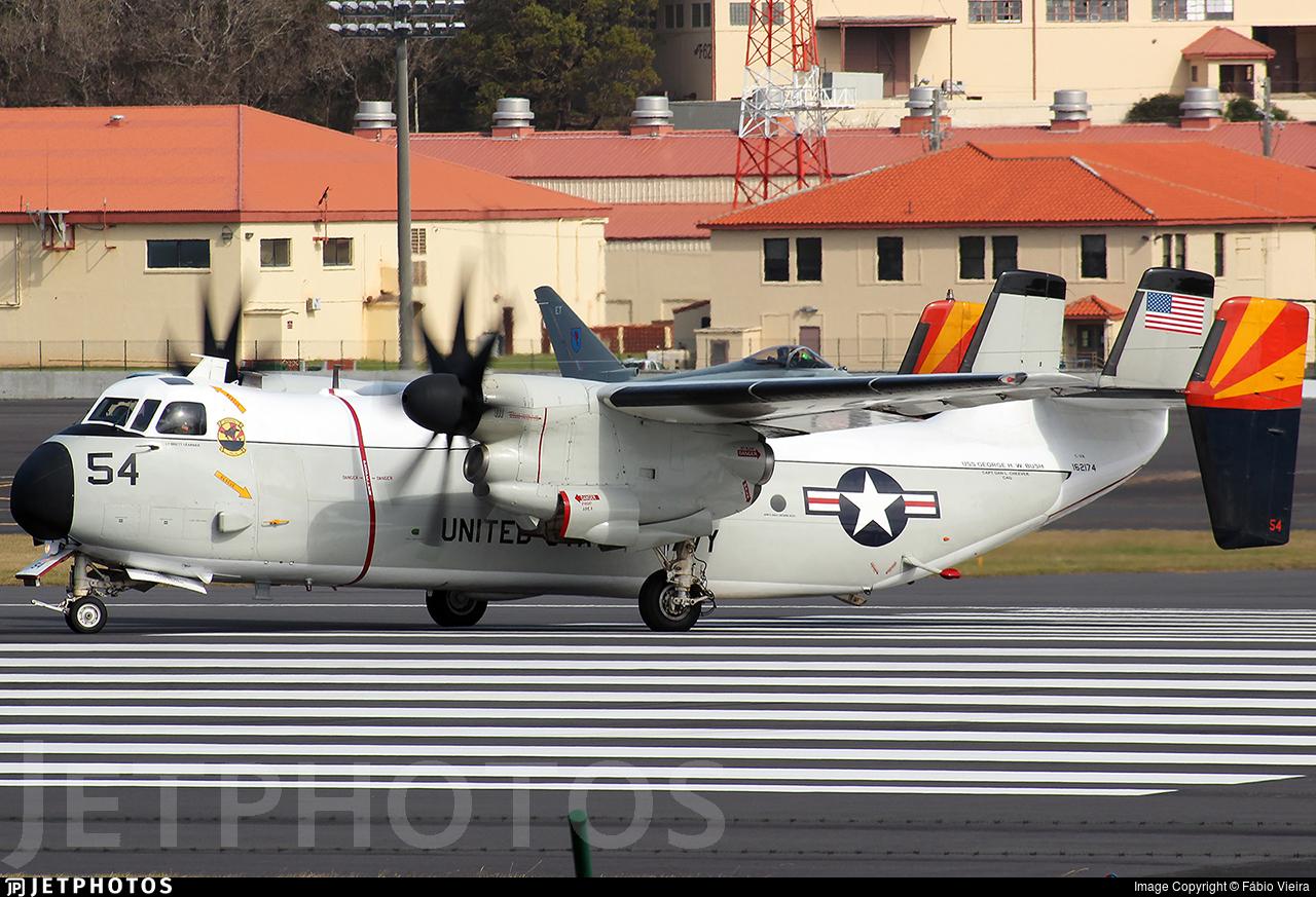 162174 - Grumman C-2A Greyhound - United States - US Navy (USN)