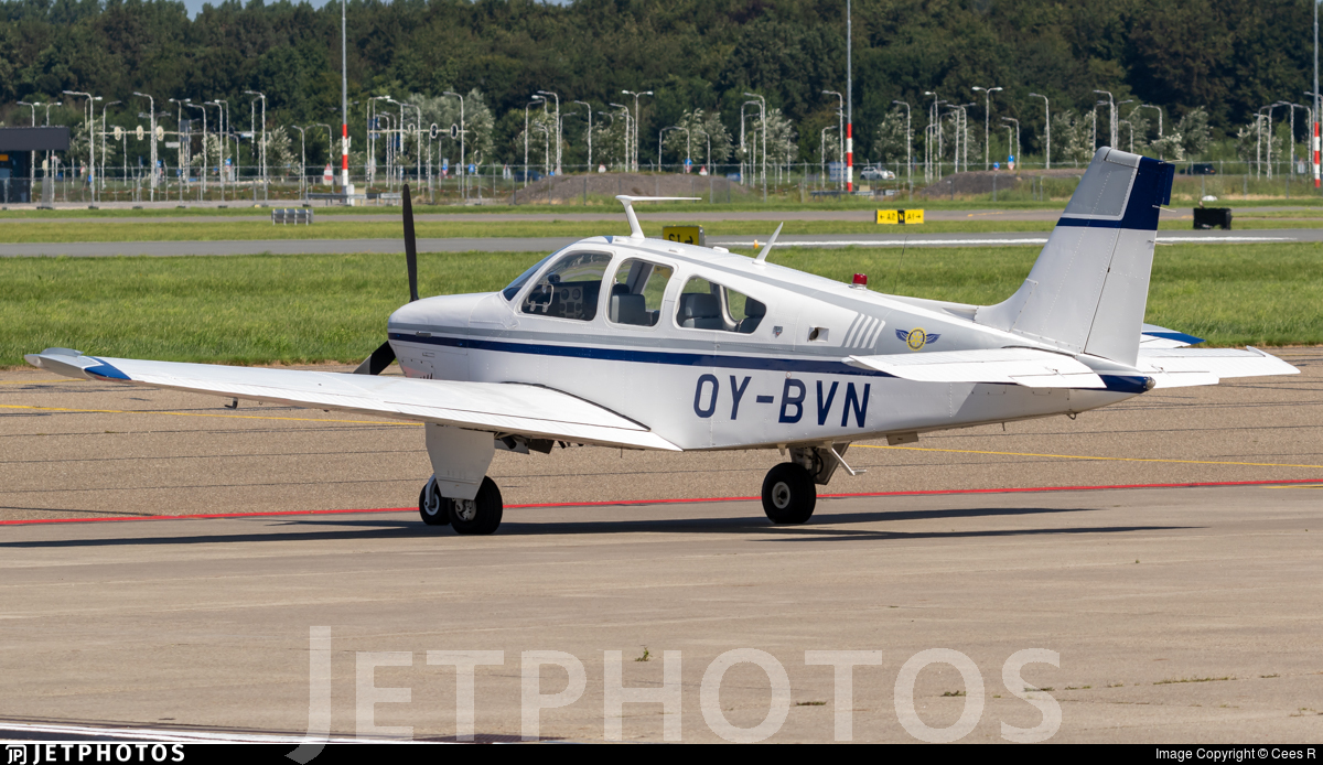 OY-BVN - Beechcraft F33A Bonanza - Private