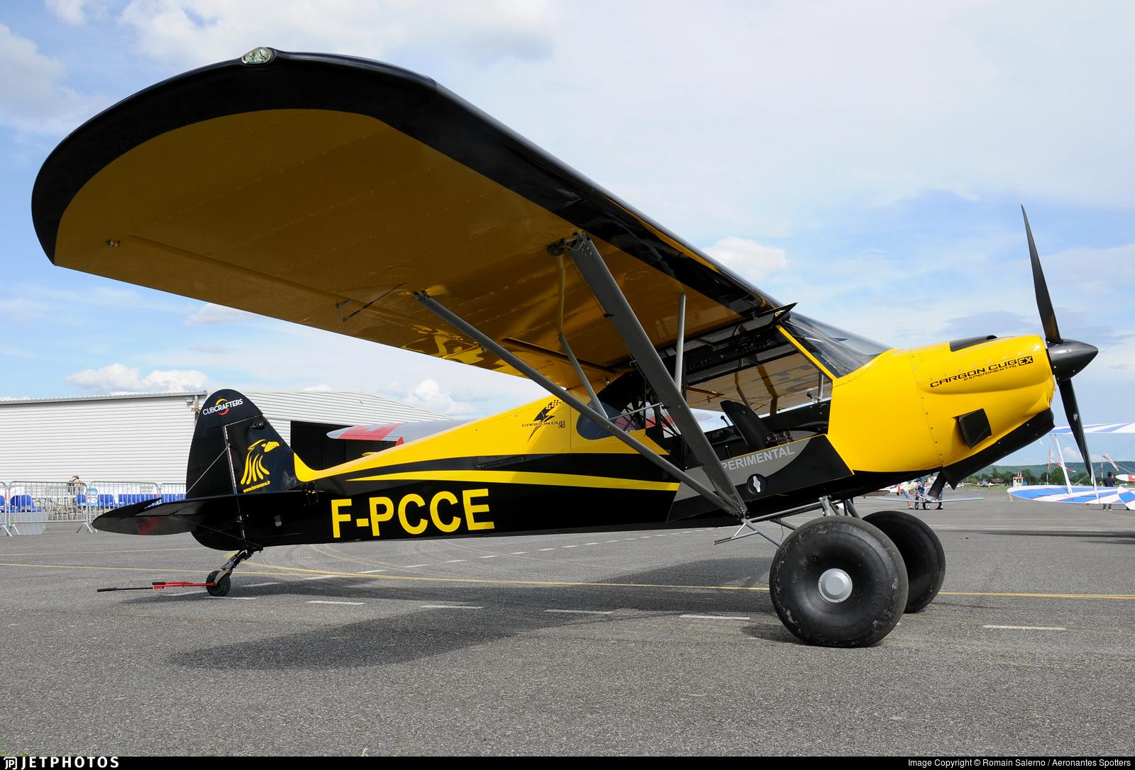 F-PCCE | Cub Crafters Carbon Cub EX CC 340 | Private | Romain