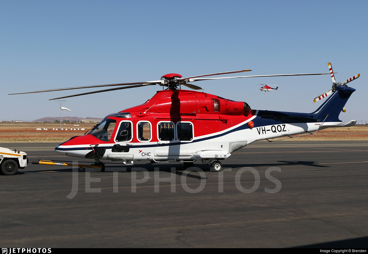 VH-QOZ - Agusta-Westland AW-139 - CHC Helicopters