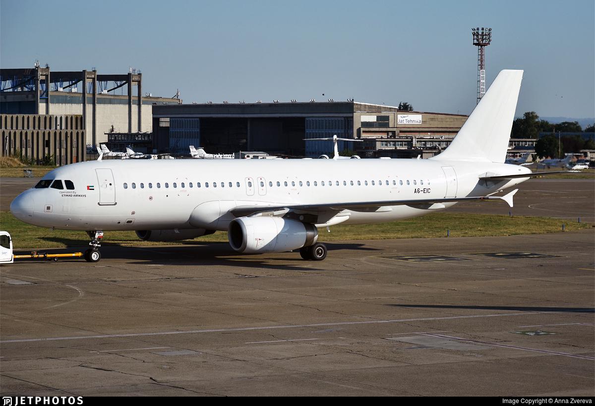 A6-EIC - Airbus A320-232 - Etihad Airways