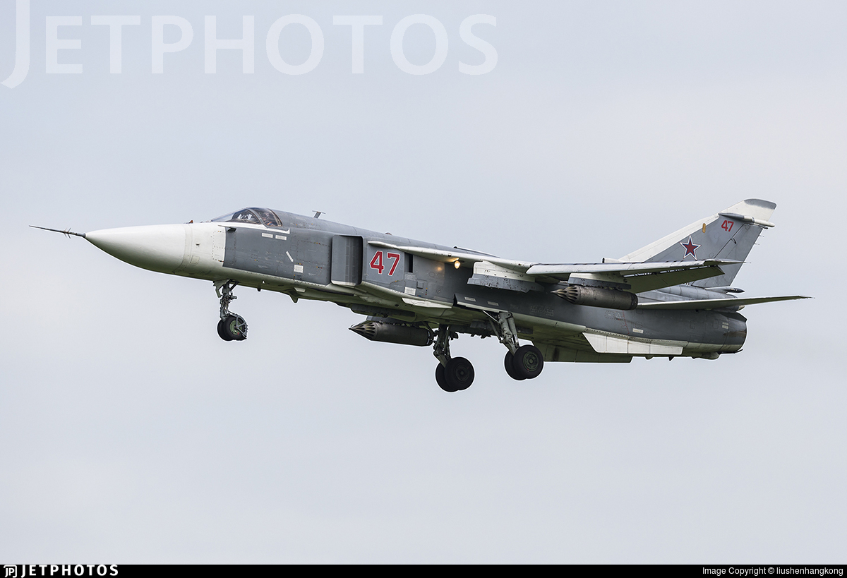 RF-95091 - Sukhoi Su-24M Fencer - Russia - Air Force