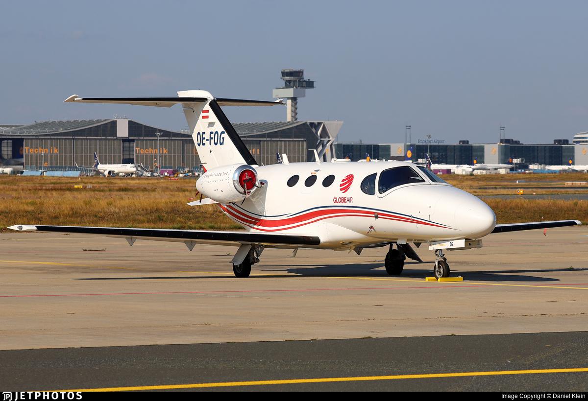 OE-FOG - Cessna 510 Citation Mustang - GlobeAir