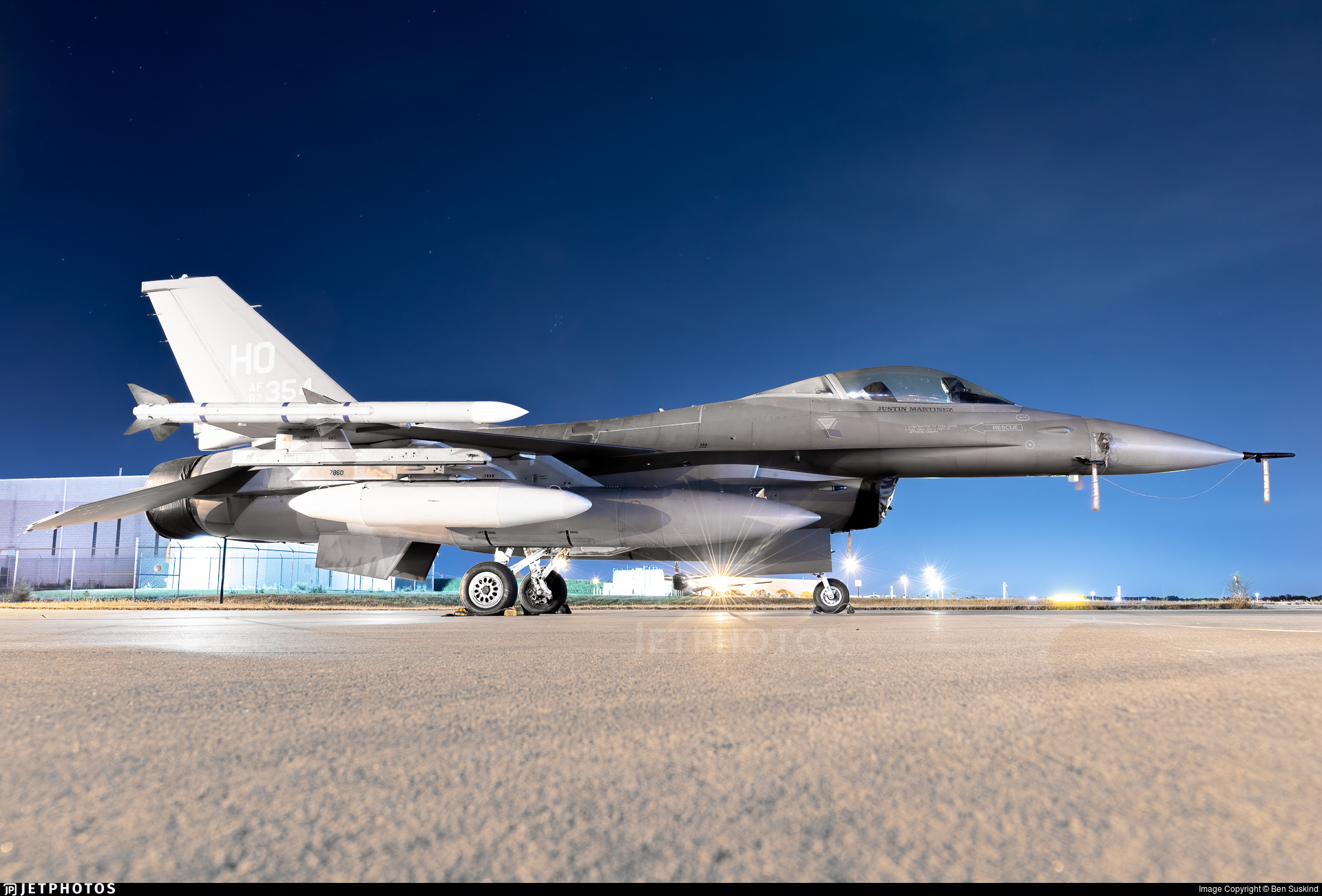 87-0354 - General Dynamics F-16C Fighting Falcon - United States - US Air Force (USAF)