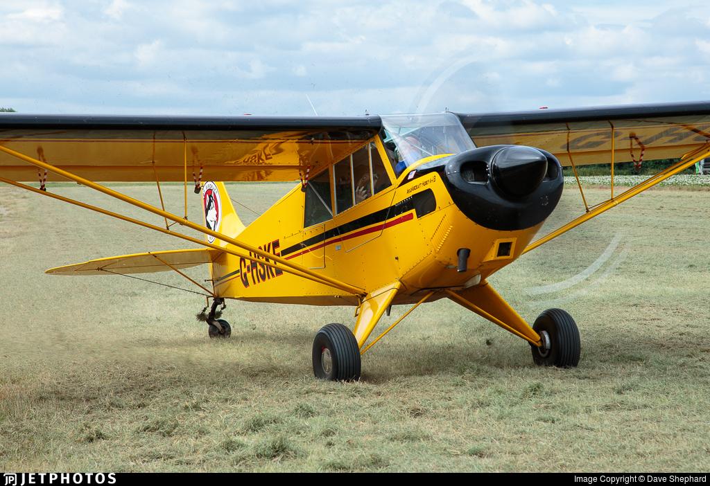 G-HSKE - Aviat A-1B Husky - Private