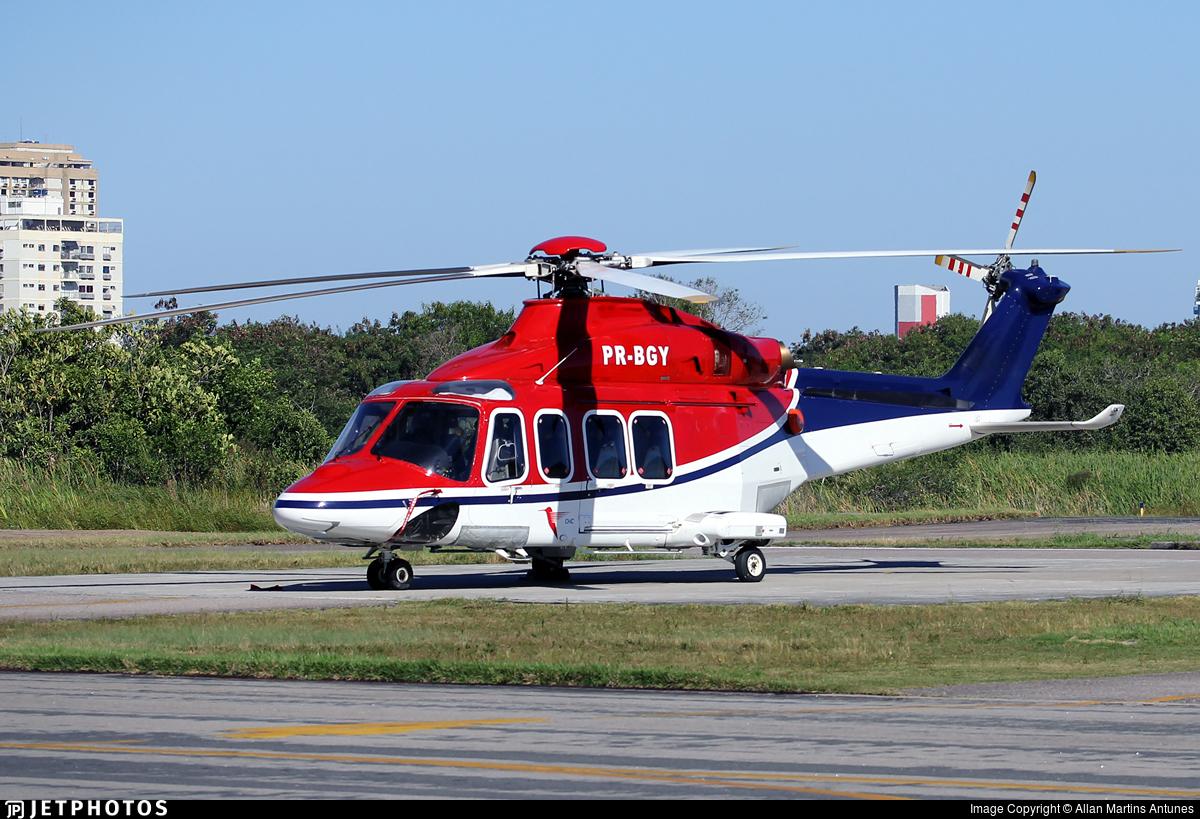 PR-BGY - Agusta-Westland AW-139 - CHC do Brasil Taxi Aereo