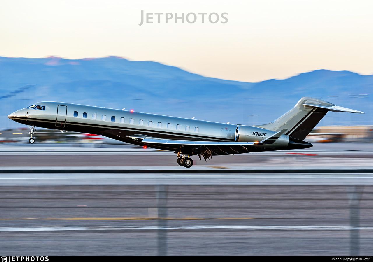 N762F - Bombardier BD-700-2A12 Global 7500  - Private