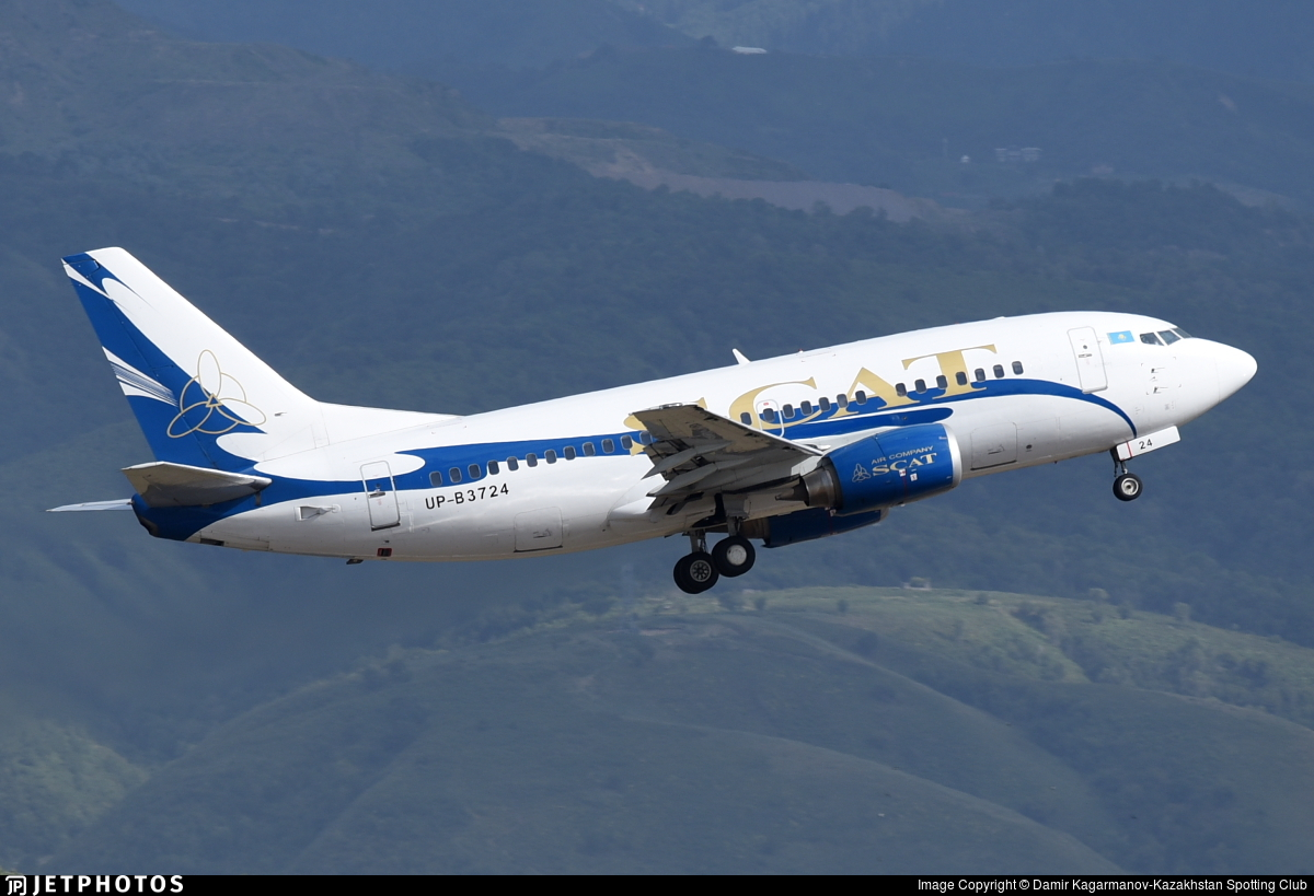 UP-B3724 - Boeing 737-548 - Scat Air Company
