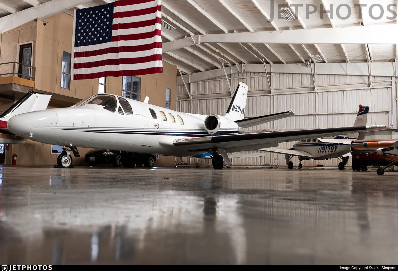 N501JM - Cessna 501 Citation SP - Private