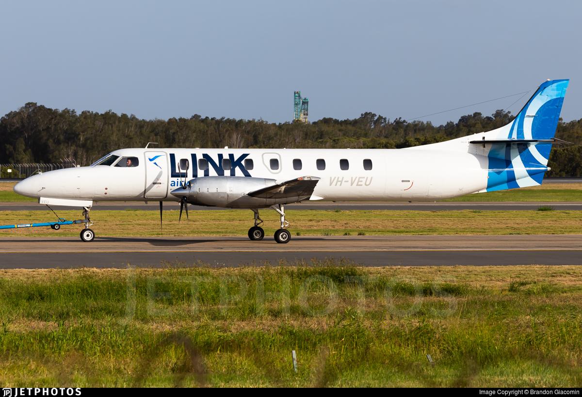 VH-VEU - Fairchild SA227-DC Metro 23 - Link Airways