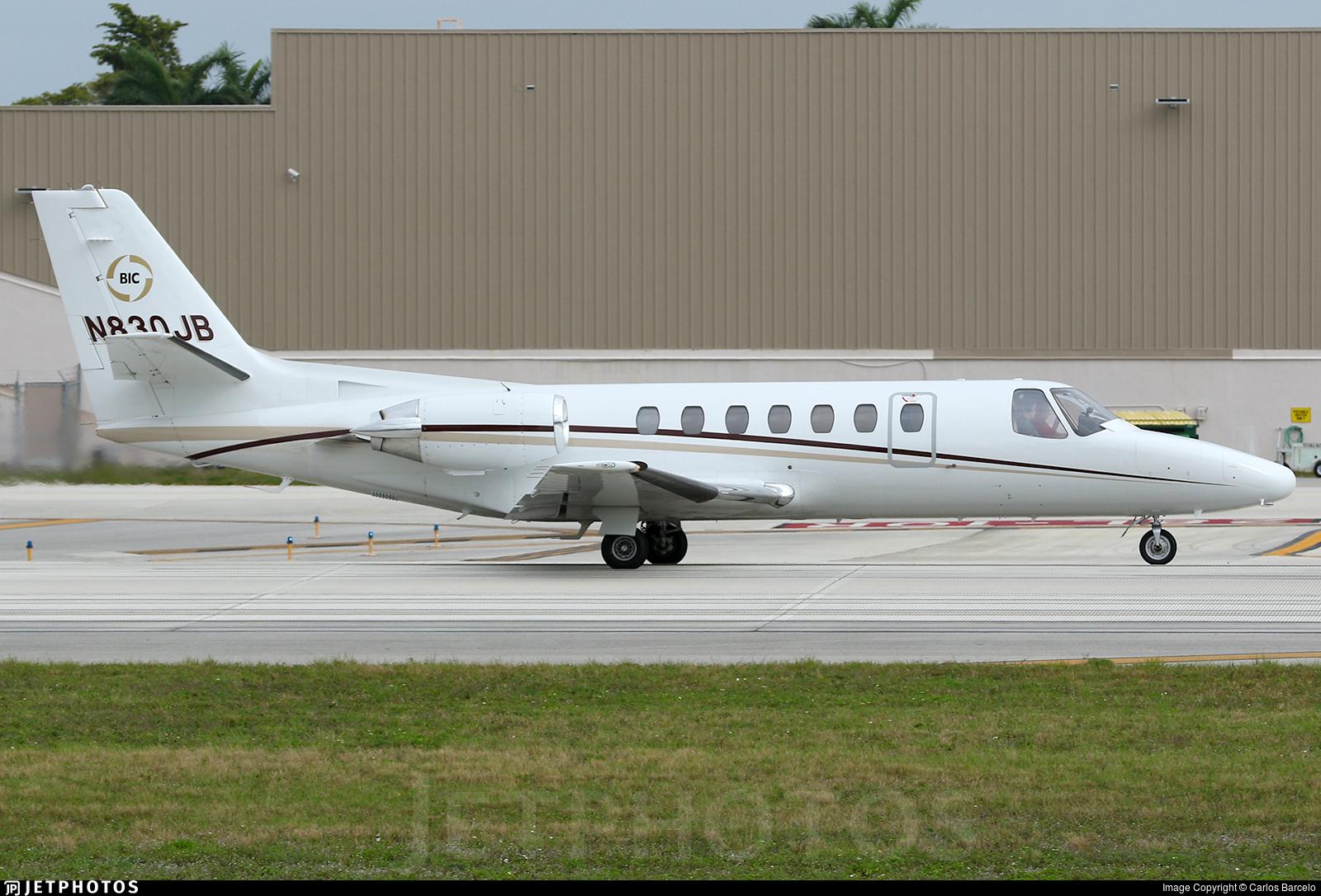 N830JB - Cessna 560 Citation V - Private