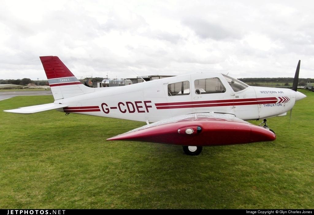 G-CDEF - Piper PA-28-161 Cadet - Western Air Thruxton