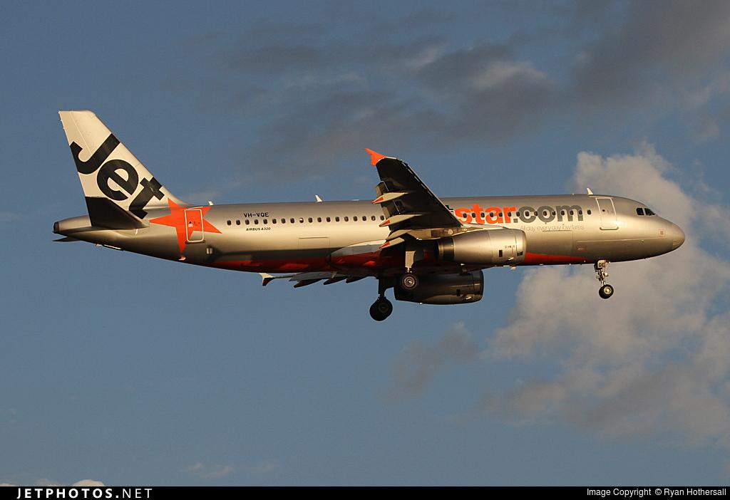VH-VQE - Airbus A320-232 - Jetstar Airways